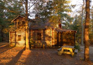 Cabin at Atsion Lake, Wharton State Forest